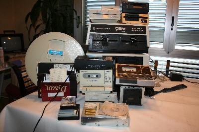 Los dispositivos y soportes apilados